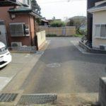 生活利便性良好前面道路含む現地写真
