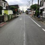 社家駅徒歩10分、門沢橋駅徒歩15分前面道路含む現地写真